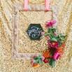 Modern Gold Glitter Wedding Ideas