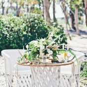 Southwestern Inspired Sweetheart Table | Amazonas Photography | Bohemian Forest Wedding
