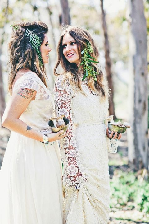 Intimate Wedding Dresses 65 Stunning Woodland Brides with Fern