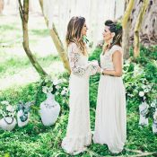 Bohemian Forest Wedding