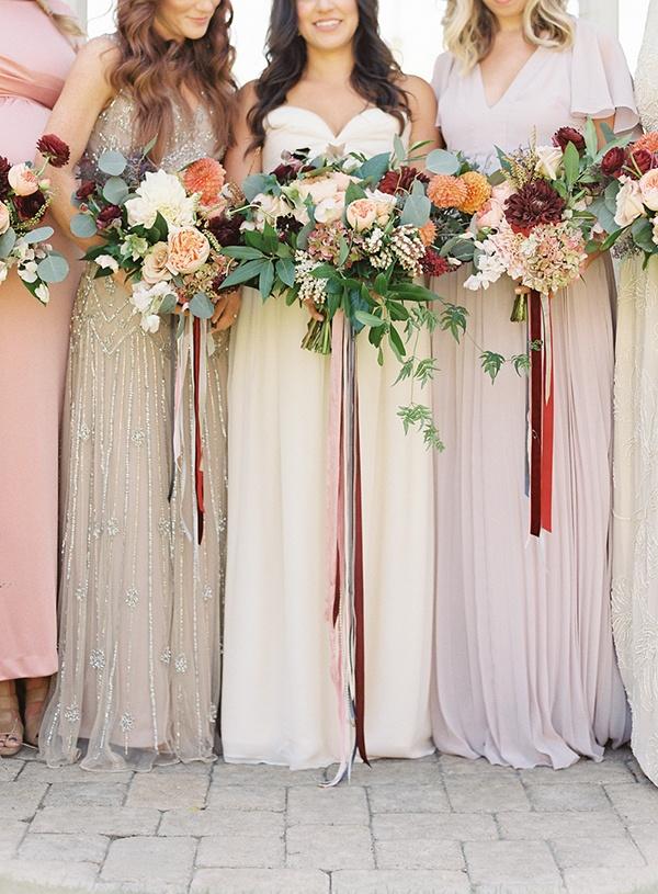 Elegant Natural Fall Wedding In Marsala Hey Lady