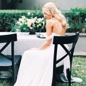 Natural Outdoor Wedding | Sarah Carpenter Photography | Organic Black and White Wedding