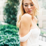 Flowing Goddess Wedding Dress | Sarah Carpenter Photography | Organic Black and White Wedding