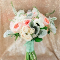 Vintage Lace and Blush Sequin Wedding Shoot
