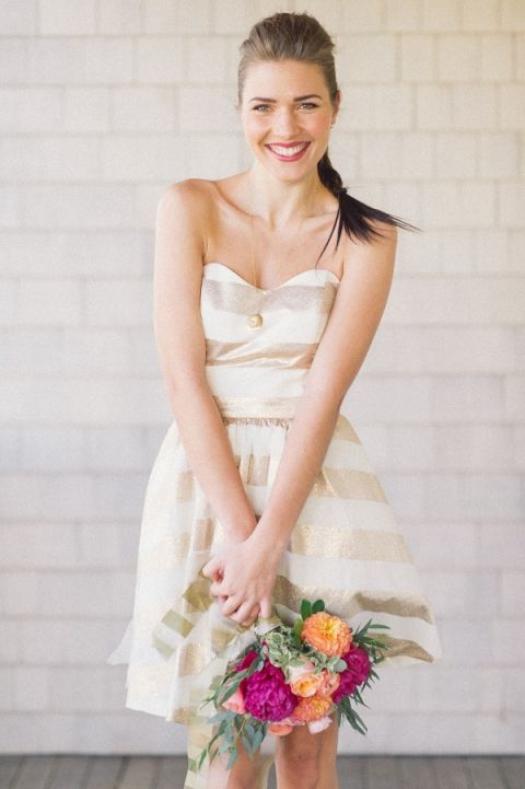Sparkles and Stripes - Kate Spade Wedding Inspiration - Hey ...