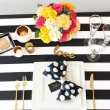 Sparkles and Stripes - Kate Spade Wedding Inspiration!