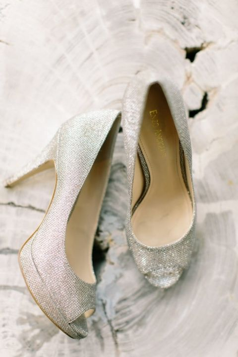 Silver Wedding Shoes 48 Vintage Silver Wedding Shoes Mint