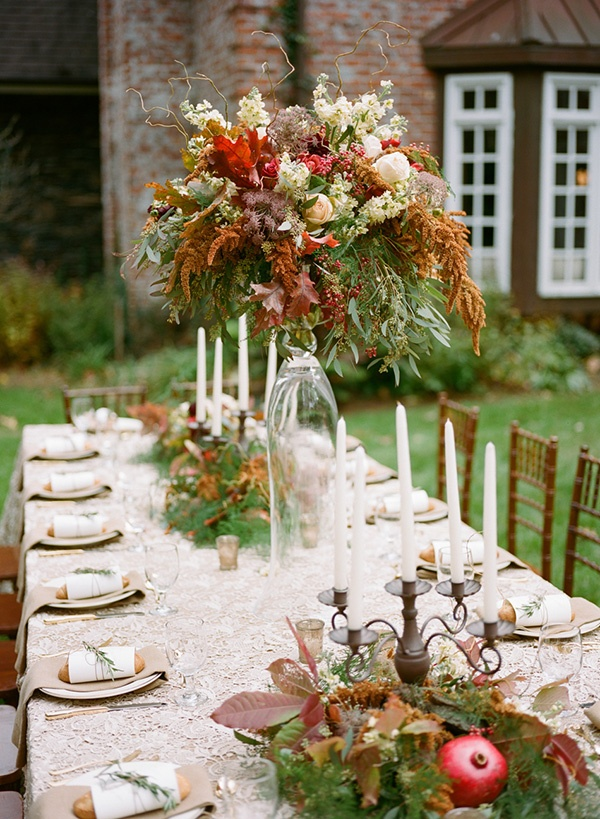 Autumn woodland wedding at a country manor hey lady