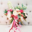 Bright and Beautiful Coral Summer Wedding