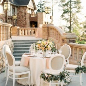 Classic Wedding Reception with Elegant Neutrals | Sara Hasstedt Photography | Floral Romance Wedding in Pastel Shades