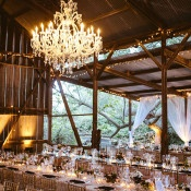 French Glam Barn Reception | Leo Evidente | Chic Parisian Wedding in a Rustic Barn