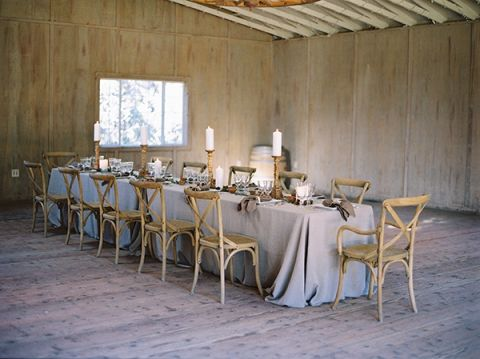 Elegant Welcome Dinner in a Barn | Jessica Burke Photography | Natural Beauty at the Style Fete W