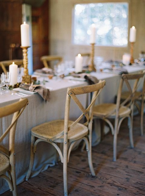 Rustic Chic Welcome Dinner | Jessica Burke Photography | Natural Beauty at the Style Fete W