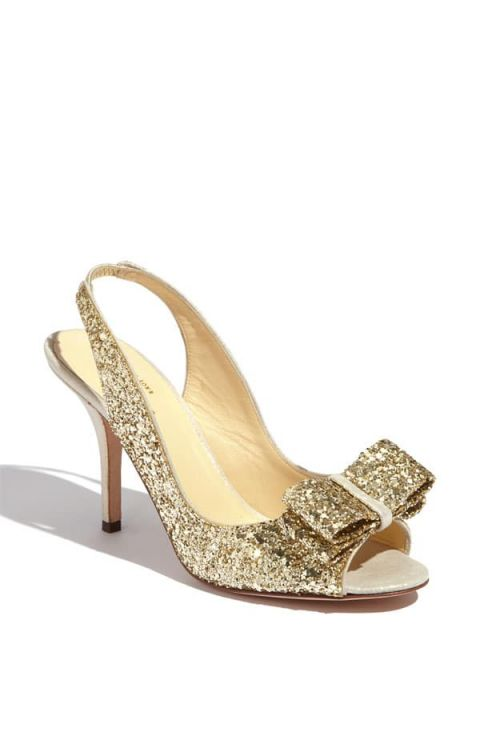Gold Dress Shoes For Wedding 92 Great Gold Glittery Kate Spade