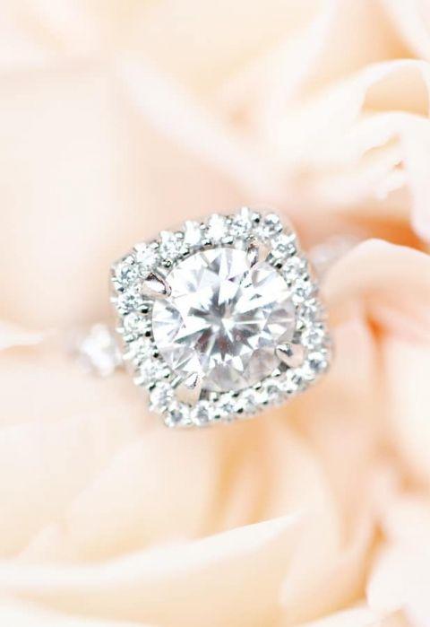 Wedding Rings Kays 94 Simple Diamond Halo Engagement Ring