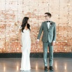 Modern Industrial Fall Wedding