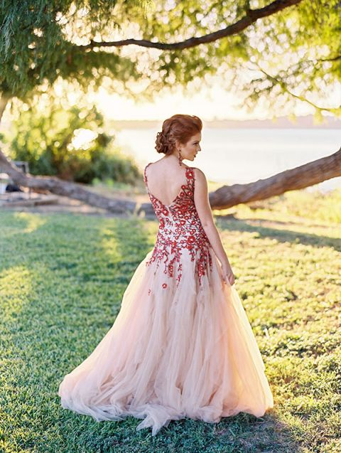 Wedding Gowns With Red