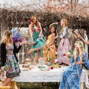 Drink Champagne and Dance on the Table! | Claire Marika and Alyssa Vincent | A High Fashion Bohemian Bridal Shower