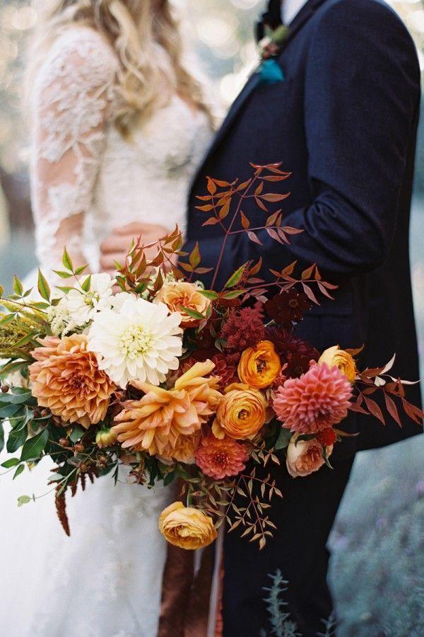 15 Bold And Beautiful Fall Bouquet Ideas Hey Wedding Lady