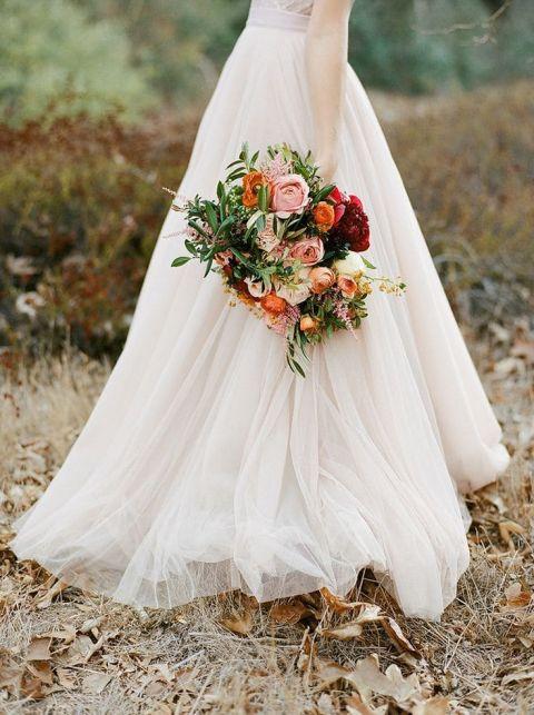 Wedding Bouquet Ideas 71 Beautiful Dreamy Blush Wedding Flowers