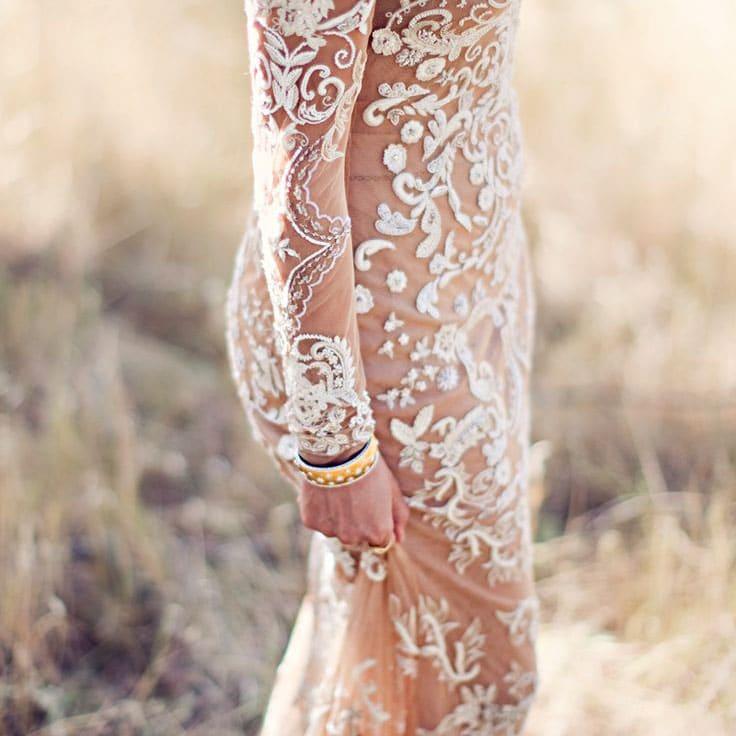 Rustic Glam Neutral Wedding Ideas