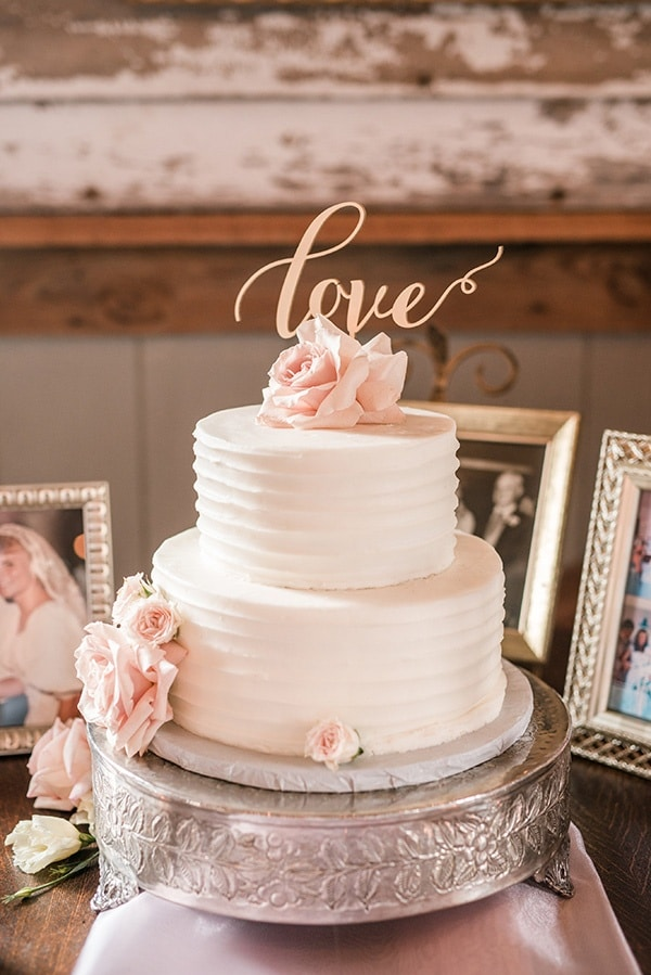 blush pink and gold wedding cake playful and southern blush wedding with floral 12040