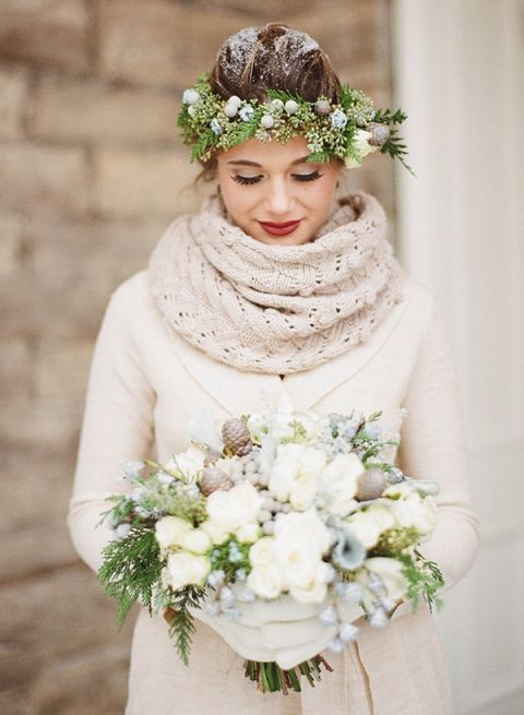Wedding Dress Sweater 39 Trend Winter Bride in Cable