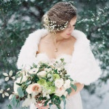 Glam Ways to Stay Cozy for a Winter Wedding!