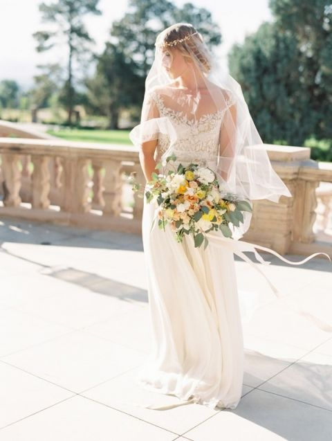 Wedding Dresses San Diego County 21 Ideal Floral Illusion Dress by