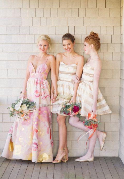 Royal Wedding Bridesmaid Dresses 91 Cute A Floral Print Wedding