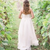 Romantic Vineyard Wedding Portraits | Alexis Rose Photography | http://heyweddinglady.com/fine-art-italy-tuscan-destination-wedding-olive-grove/