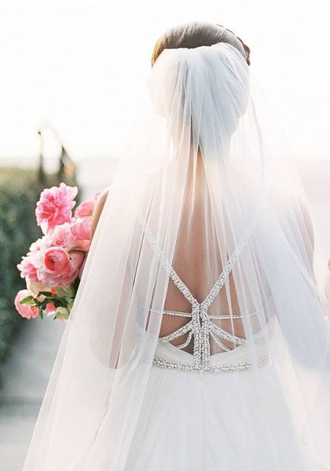 Jeweled Hayley Paige Wedding Dress | Tracy Enoch Photography - https://heyweddinglady.com/whimsical-glam-wedding-inspired-hayley-paige