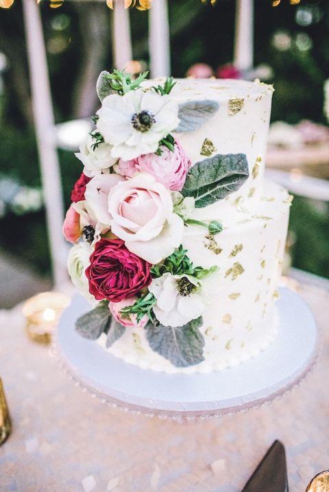 Batman Wedding Cake 46 Cool Gold Leaf Wedding Cake