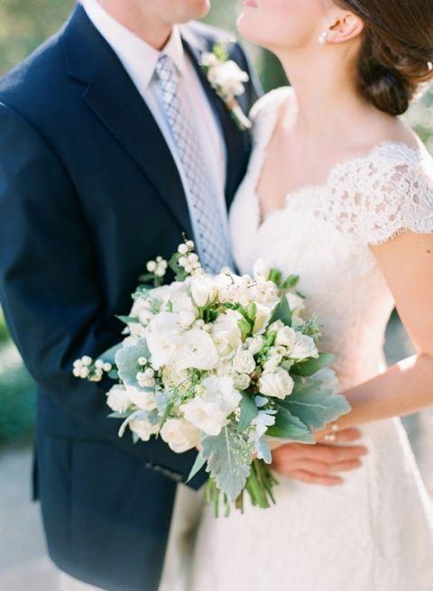 Classic A-Line Off the Shoulder Lace Wedding Dress | Adam Barnes Photography | Hey Wedding Lady Picks for a Fabulous 2016 Wedding! - https://heyweddinglady.com/hey-wedding-ladys-picks-fabulous-2016-wedding/