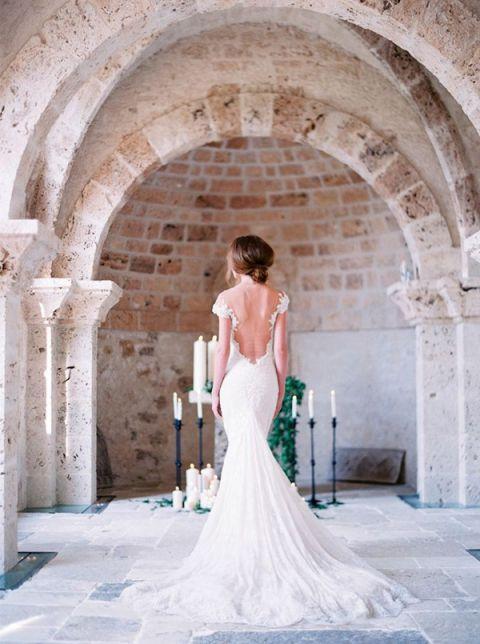 Galia Lahav Wedding Dress with an Open Back | Le Secret DAudrey Photography | Hey Wedding Lady Picks for a Fabulous 2016 Wedding! - https://heyweddinglady.com/hey-wedding-ladys-picks-fabulous-2016-wedding/