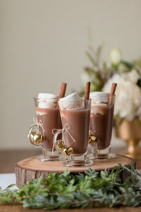 Detail of the Day - A Hot Chocolate Bar for a Cozy Winter Wedding! | Gavin Farrington Photography and Glow Event Design