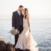 Glam Mermaid Wedding on the Moonlit Coast http://heyweddinglady.com/glam-mermaid