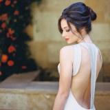 Edgy Modern Wedding in Dramatic Blood Orange and Onyx | http://heyweddinglady.com/edgy-modern-wedding-dramatic-blood-orange-black/