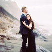 Moody and Misty Beach Engagement Shoot