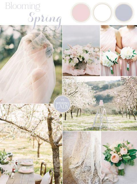 Delicate Cherry Blossom Wedding Ideas in Rose Quartz | https://heyweddinglady.com/delicate-cherry-blossom-wedding-ideas-rose-quartz
