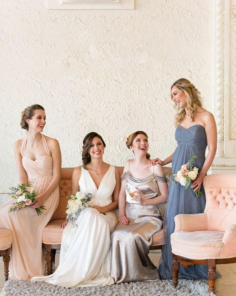 Vintage Wedding Bridesmaids Dresses 79 Popular Vintage Inspired Bridal Party