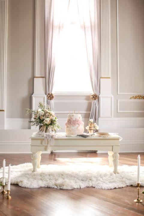 Elegant And Wedding Cake Table Slf Weddings Https Heyweddinglady