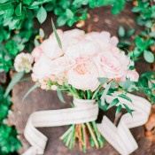 Blush Garden Rose Bouquet | Jordan Brittley Photography | http://heyweddinglady.com/luminous-spring-garden-wedding-ilac-gray-blush/