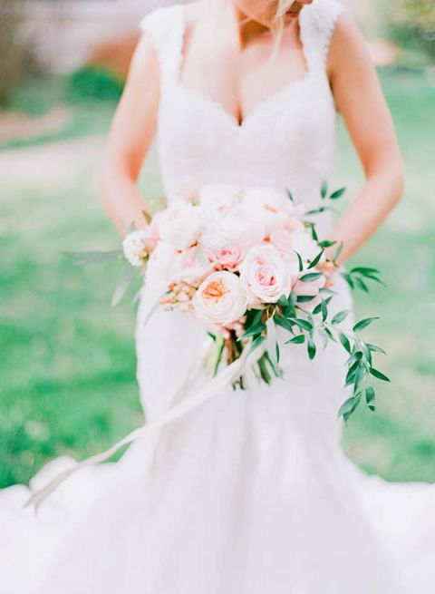 Romantic Fine Art Bride | Jordan Brittley Photography | https://heyweddinglady.com/luminous-spring-garden-wedding-ilac-gray-blush/