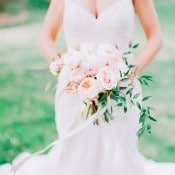 Romantic Fine Art Bride | Jordan Brittley Photography | http://heyweddinglady.com/luminous-spring-garden-wedding-ilac-gray-blush/