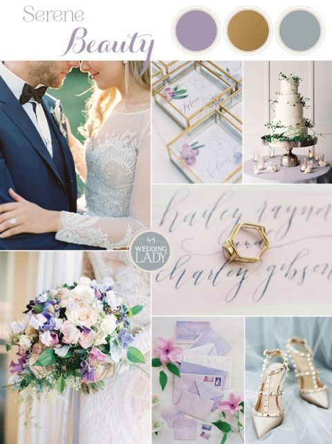 Spring Watercolor Wedding Inspiration in Lavender and Sage Green | https://heyweddinglady.com/spring-watercolor-wedding-inspiration-lavender-sage-green/