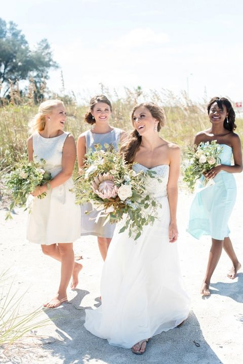 Pastel Nautical Wedding Shoot with Preppy Coastal Details | Hey ...