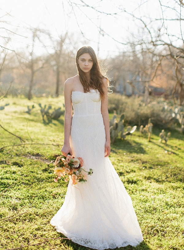 Rich and moody spring florals for a vintage bride hey for Wedding dresses spring tx