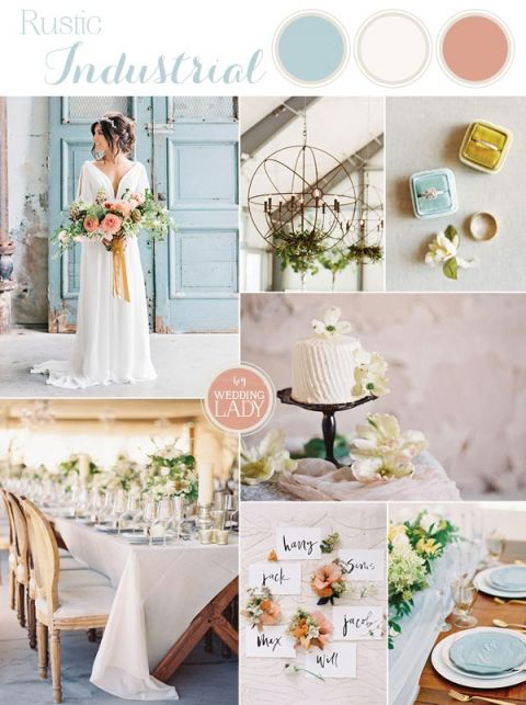 Rustic Industrial Wedding inspired by Fixer Upper on HGTV!
