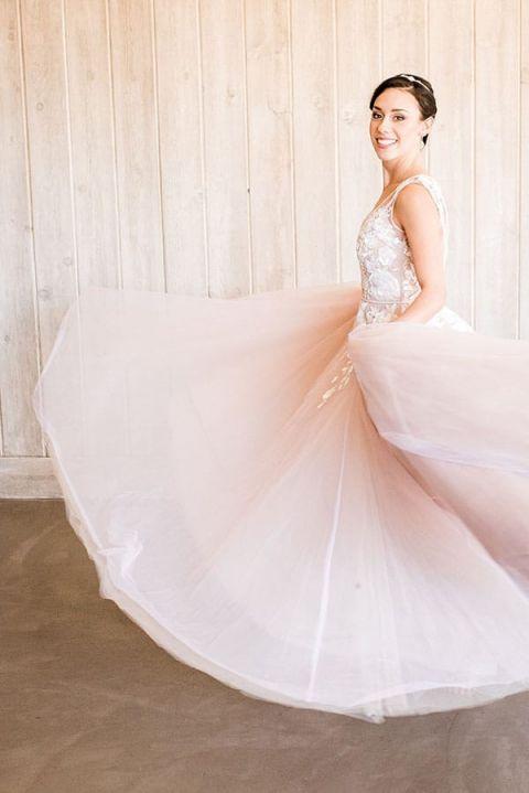 Modern Bride Wedding Dresses 33 Marvelous Bride Twirling in a